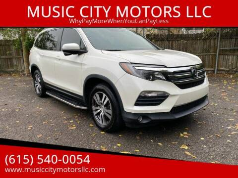 2016 Honda Pilot for sale at MUSIC CITY MOTORS LLC in Nashville TN