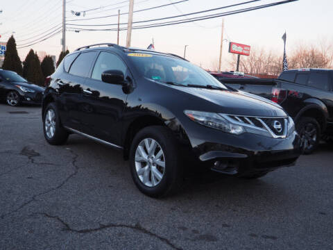 2012 Nissan Murano for sale at East Providence Auto Sales in East Providence RI