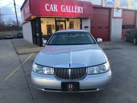2002 Lincoln Town Car for sale at Car Gallery in Oklahoma City OK