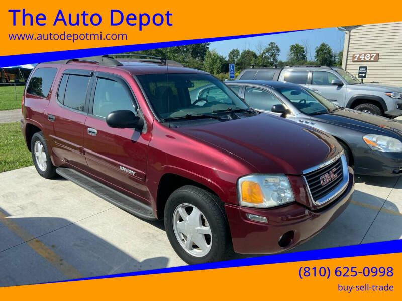 2003 GMC Envoy XL for sale at The Auto Depot in Mount Morris MI
