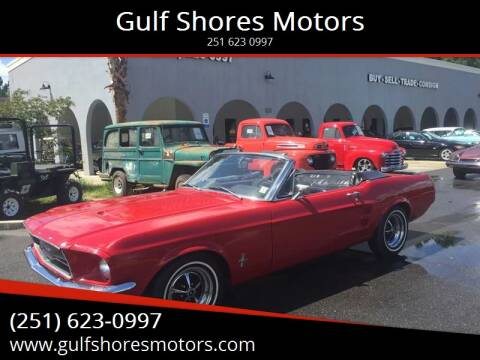 1967 Ford Mustang for sale at Gulf Shores Motors in Gulf Shores AL