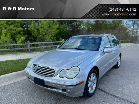 2004 Mercedes-Benz C-Class for sale at R & R Motors in Waterford MI