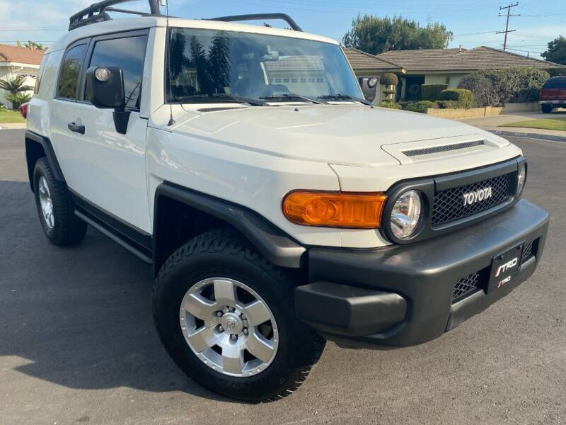 2010 Toyota FJ Cruiser for sale at SoCal Motors in Los Alamitos CA