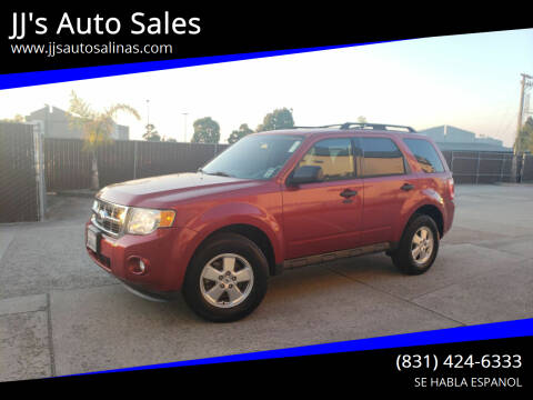 2012 Ford Escape for sale at JJ's Auto Sales in Salinas CA
