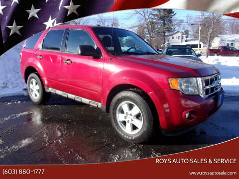 2010 Ford Escape for sale at Roys Auto Sales & Service in Hudson NH