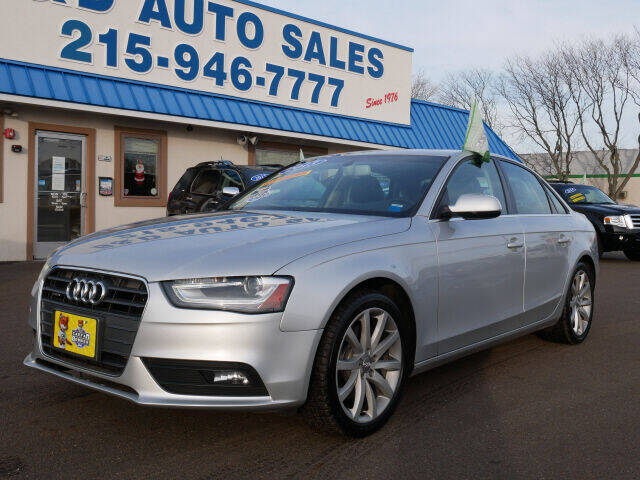 2013 Audi A4 for sale at B & D Auto Sales Inc. in Fairless Hills PA