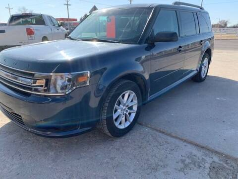 2017 Ford Flex for sale at J & S Auto in Downs KS