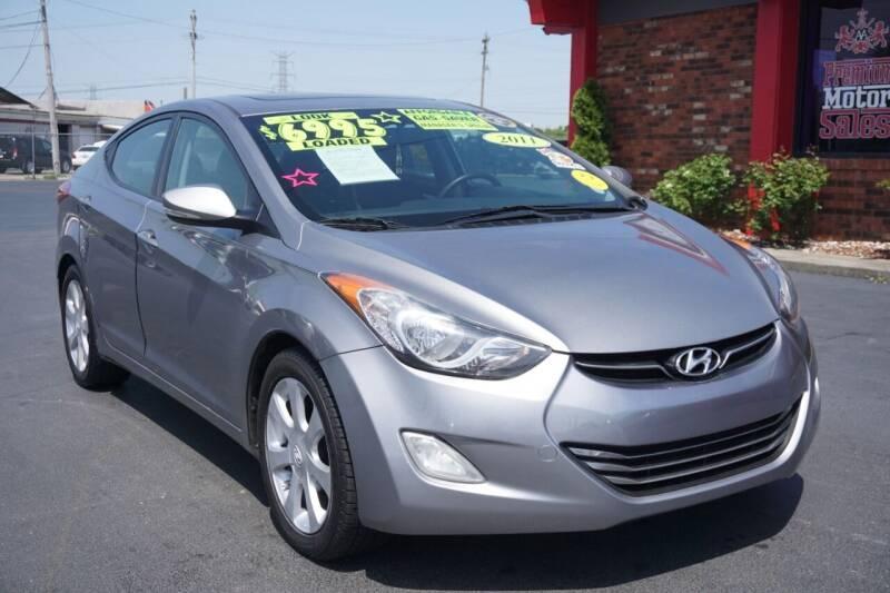 2011 Hyundai Elantra for sale at Premium Motors in Louisville KY