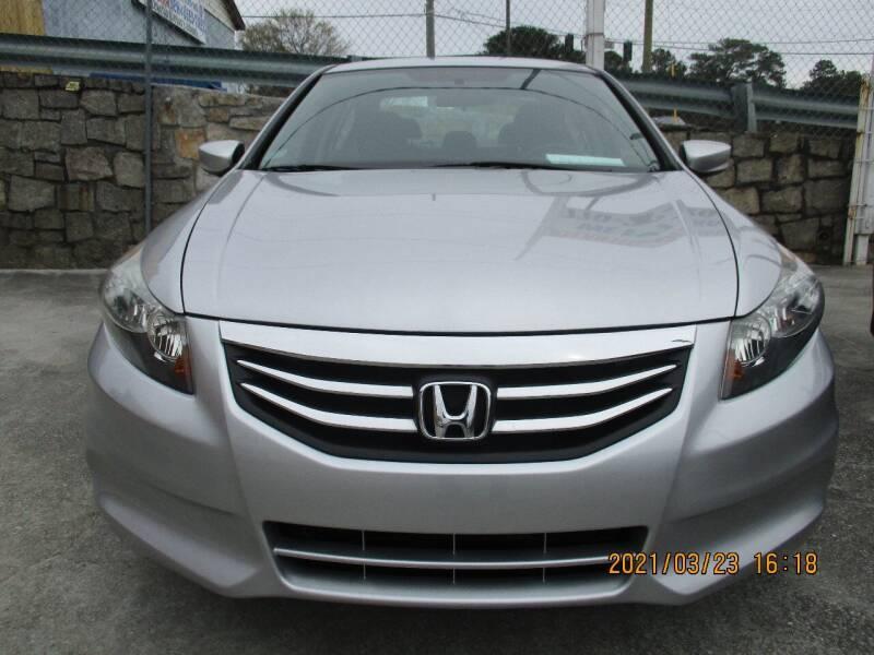 2012 Honda Accord for sale at Atlantic Motors in Chamblee GA