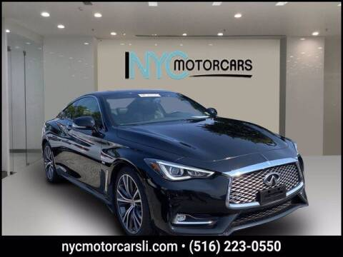 2018 Infiniti Q60 for sale at NYC Motorcars in Freeport NY