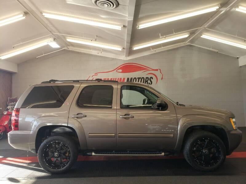 2014 Chevrolet Tahoe for sale at Premium Motors in Villa Park IL