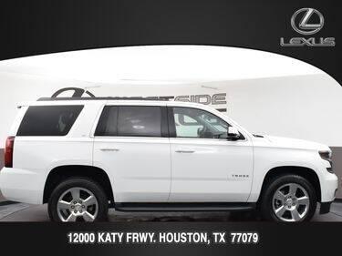 2017 Chevrolet Tahoe for sale at LEXUS in Houston TX