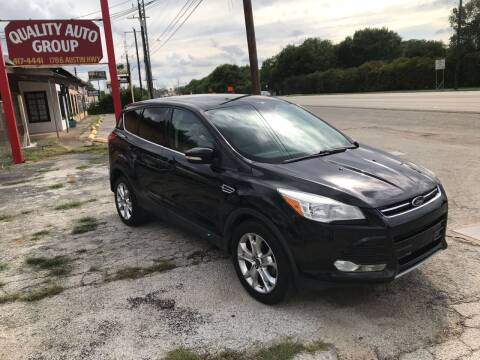 2013 Ford Escape for sale at Quality Auto Group in San Antonio TX