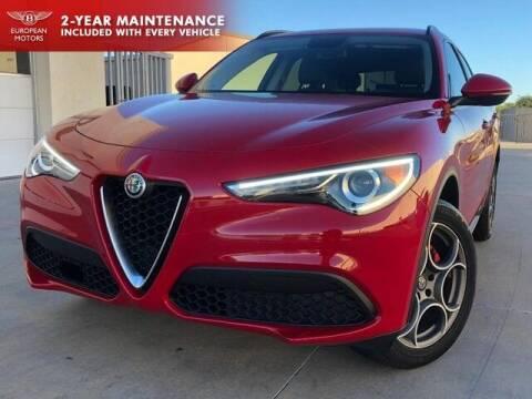 2018 Alfa Romeo Stelvio for sale at European Motors Inc in Plano TX