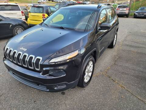 2015 Jeep Cherokee for sale at Ace Auto Brokers in Charlotte NC