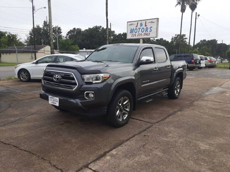 2016 Toyota Tacoma for sale at J & L Motors in Pascagoula MS