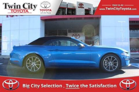 2019 Ford Mustang for sale at Twin City Toyota in Herculaneum MO