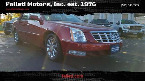 2011 Cadillac DTS for sale at Falleti Motors, Inc.  est. 1976 in Batavia NY