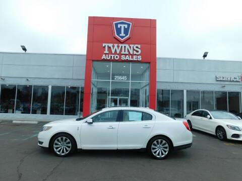 2013 Lincoln MKS for sale at Twins Auto Sales Inc Redford 1 in Redford MI