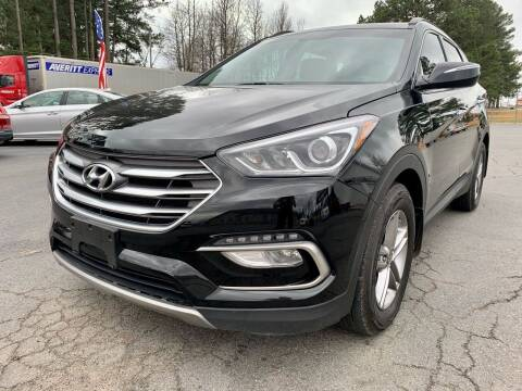 2018 Hyundai Santa Fe Sport for sale at Airbase Auto Sales in Cabot AR