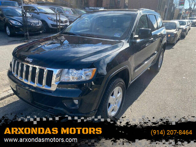 2012 Jeep Grand Cherokee for sale at ARXONDAS MOTORS in Yonkers NY