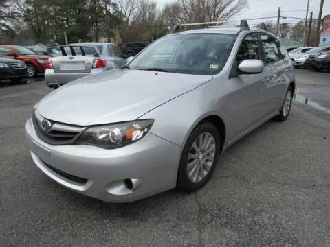 2010 Subaru Impreza for sale at Atlantic Auto Sales in Chesapeake VA