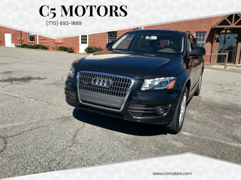 2011 Audi Q5 for sale at C5 Motors in Marietta GA