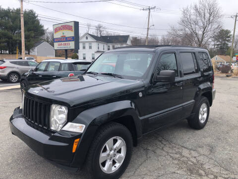2012 Jeep Liberty for sale at Beachside Motors, Inc. in Ludlow MA