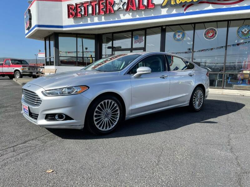 2014 Ford Fusion for sale at Better All Auto Sales in Yakima WA