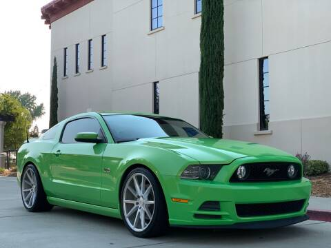 2013 Ford Mustang for sale at Auto King in Roseville CA