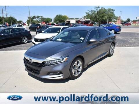 2018 Honda Accord for sale at South Plains Autoplex by RANDY BUCHANAN in Lubbock TX