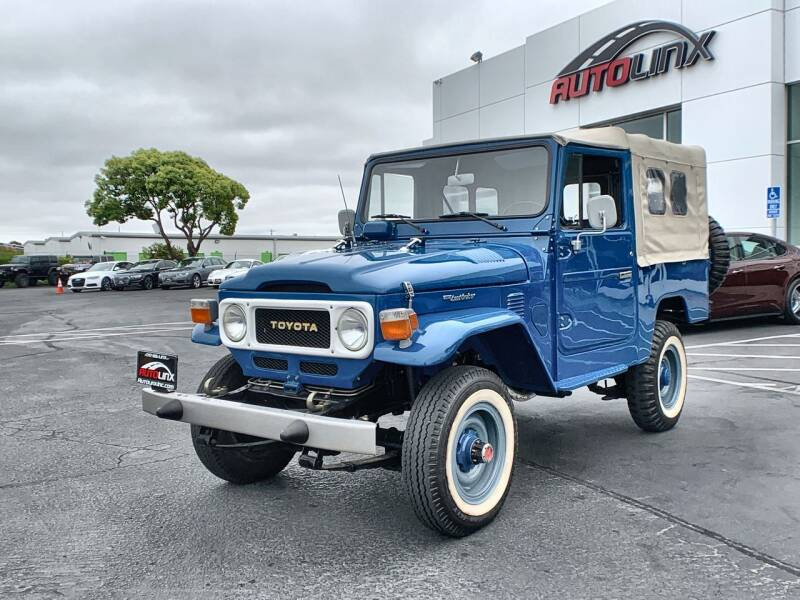 1982 Toyota Land Cruiser for sale in Vallejo, CA