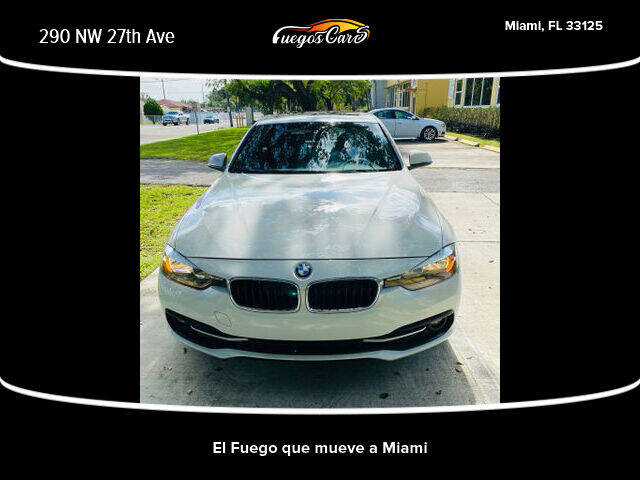 2016 BMW 3 Series for sale at Fuego's Cars in Miami FL