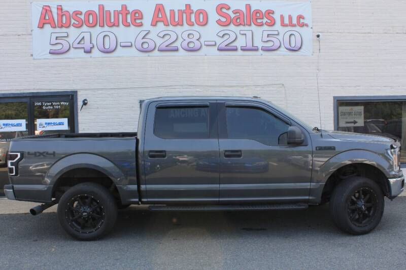 2018 Ford F-150 for sale at Absolute Auto Sales in Fredericksburg VA