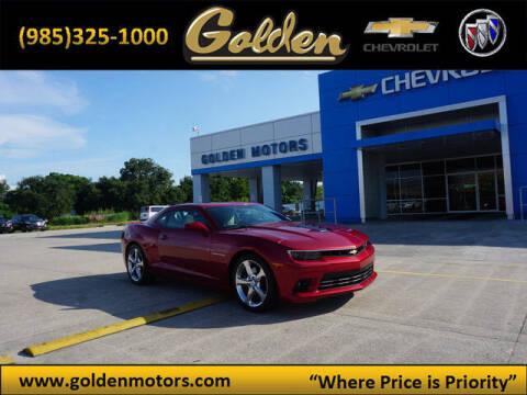 2014 Chevrolet Camaro for sale at GOLDEN MOTORS in Cut Off LA
