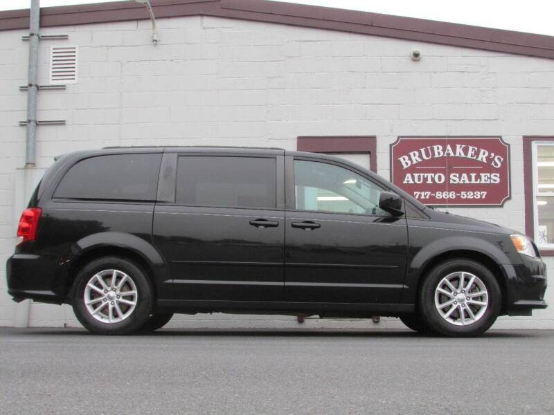2016 Dodge Grand Caravan for sale at Brubakers Auto Sales in Myerstown PA