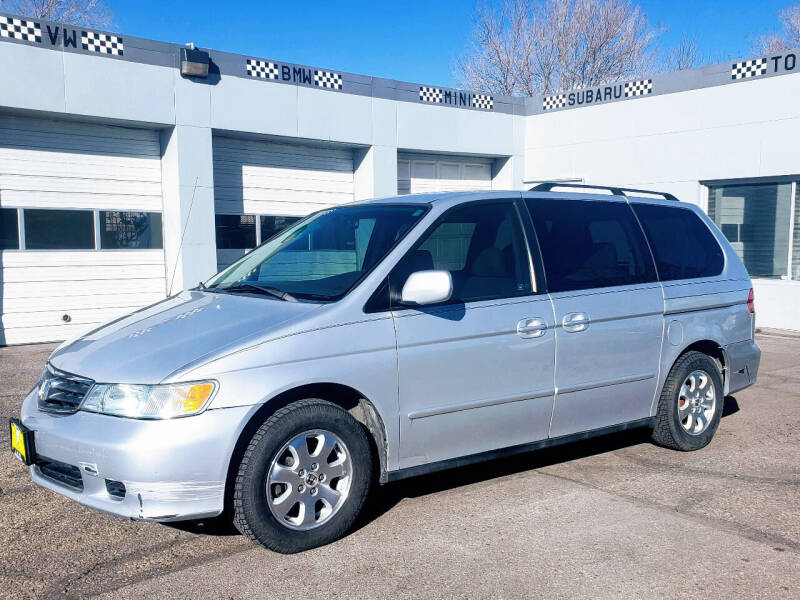 2004 Honda Odyssey for sale at J & M PRECISION AUTOMOTIVE, INC in Fort Collins CO