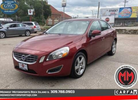 2013 Volvo S60 for sale at MIDWEST MOTORSPORTS in Rock Island IL