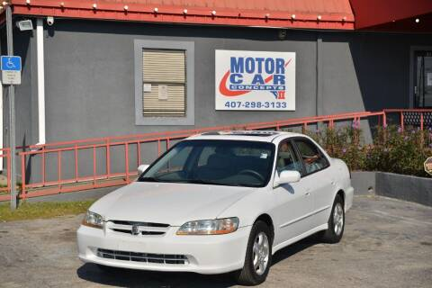 1998 Honda Accord for sale at Motor Car Concepts II - Kirkman Location in Orlando FL