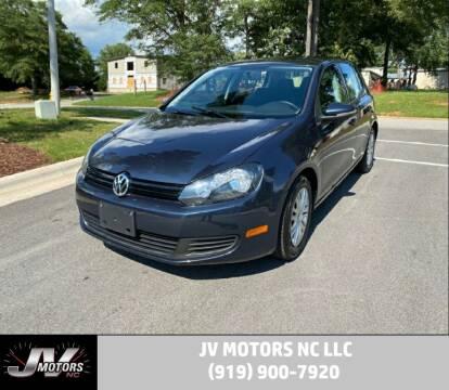 2013 Volkswagen Golf for sale at JV Motors NC LLC in Raleigh NC