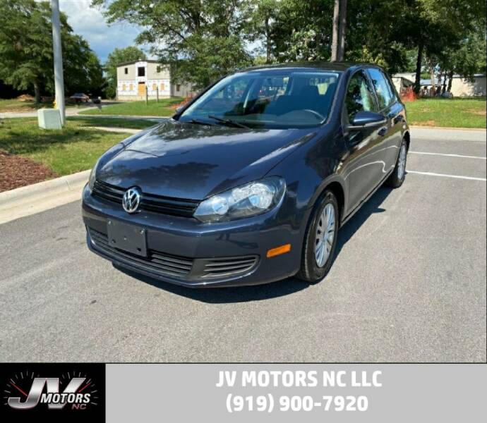 2013 Volkswagen Golf for sale at JV Motors NC LLC in Raleigh NC