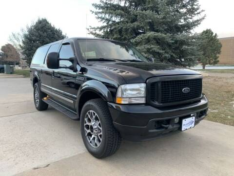 2004 Ford Excursion for sale at Tobias of Blue Star Auto Group in Frederick CO