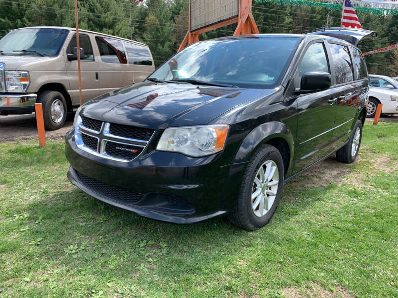 2013 Dodge Grand Caravan for sale at CARS R US in Caro MI