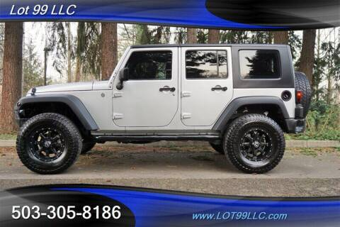 2007 Jeep Wrangler Unlimited for sale at LOT 99 LLC in Milwaukie OR