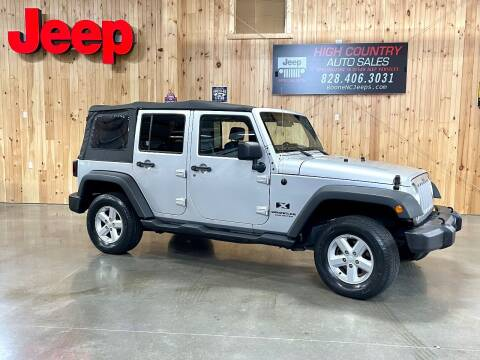 2007 Jeep Wrangler Unlimited for sale at Boone NC Jeeps-High Country Auto Sales in Boone NC