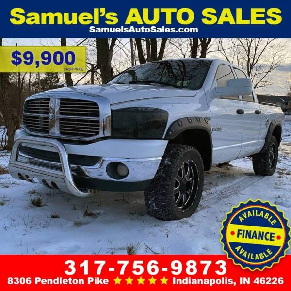 2008 Dodge Ram Pickup 1500 for sale at Samuel's Auto Sales in Indianapolis IN