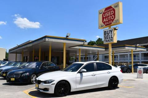 2015 BMW 3 Series for sale at Houston Used Auto Sales in Houston TX