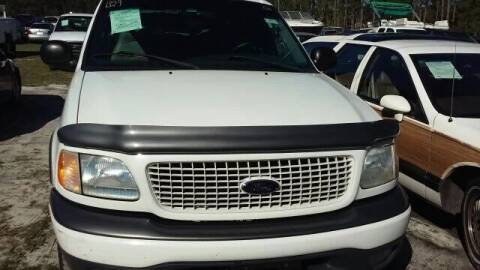 2000 Ford Expedition for sale at MOTOR VEHICLE MARKETING INC in Hollister FL