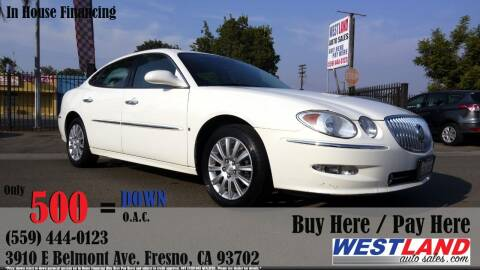 2008 Buick LaCrosse for sale at Westland Auto Sales in Fresno CA
