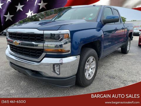 2017 Chevrolet Silverado 1500 for sale at Bargain Auto Sales in West Palm Beach FL